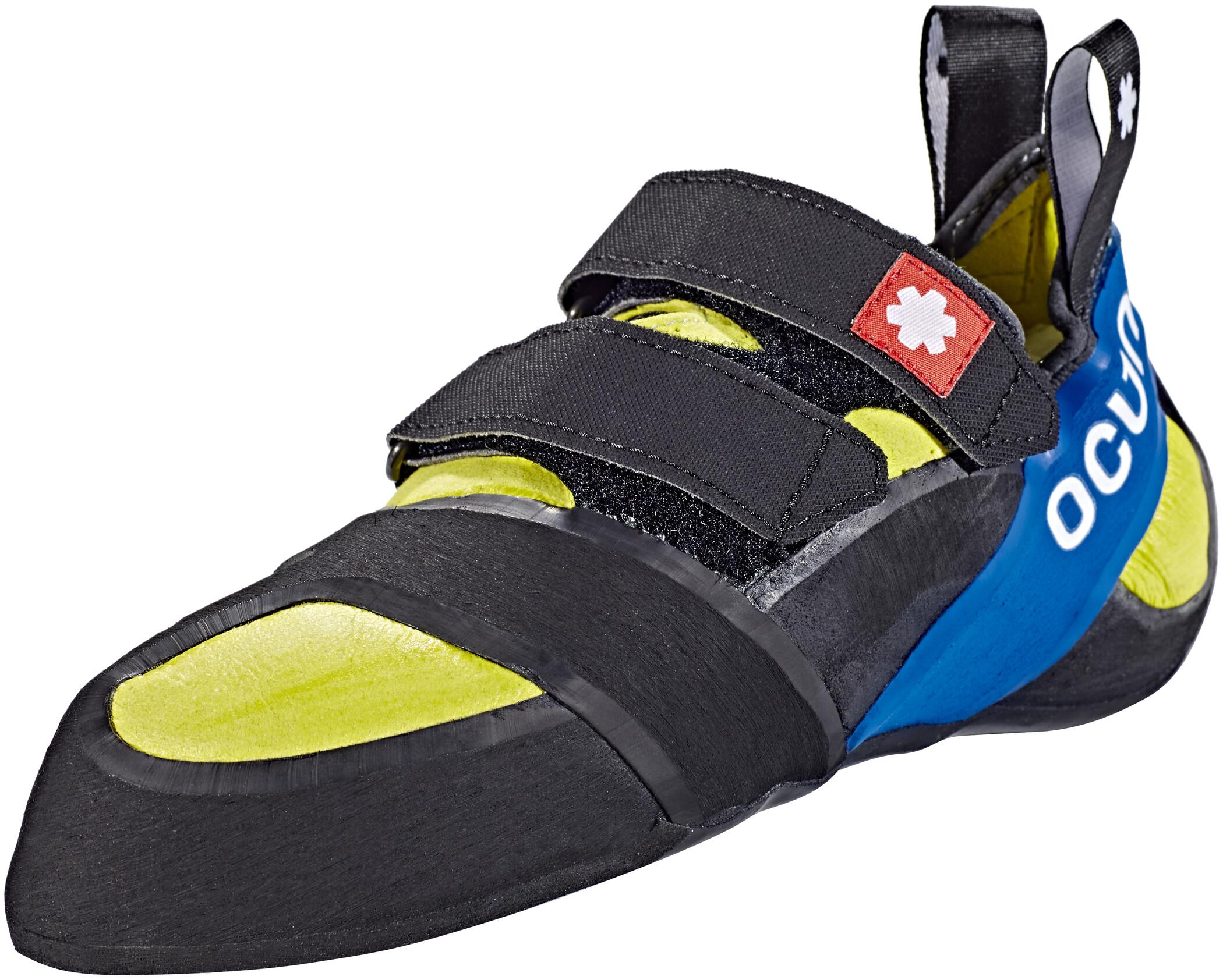 Ocun Ozone Chaussures D Escalade Jaune Noir Sur Campz Fr